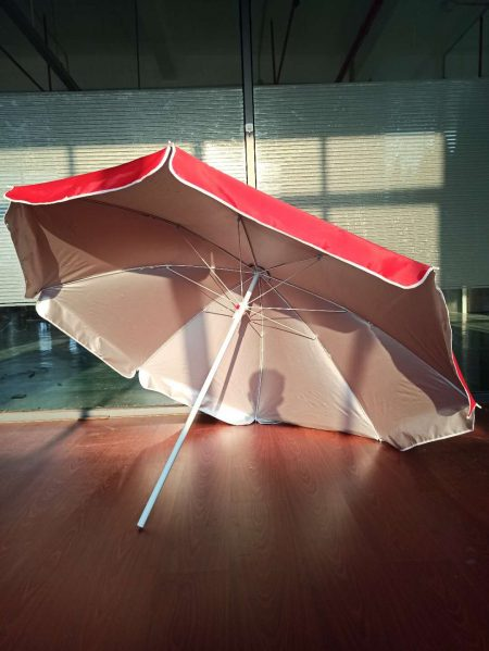 cheap beach umbrella with sliver coating