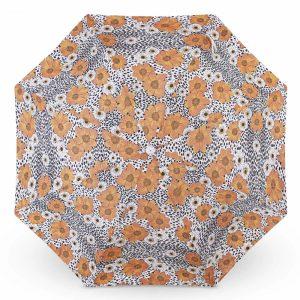 Premium beach umbrella with fringes 2