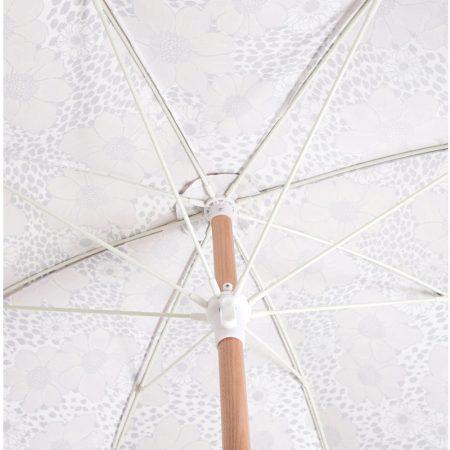 Premium beach umbrella with fringes 3
