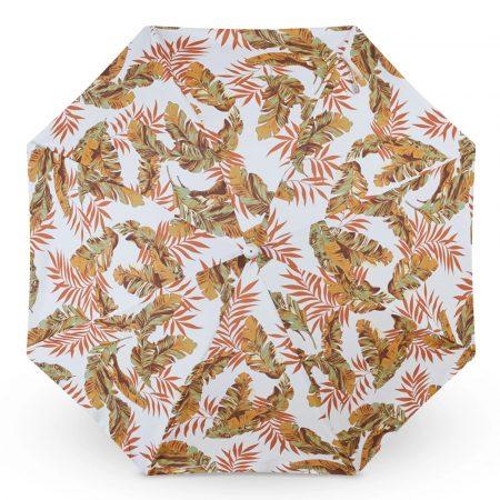 vintage beach umbrella with tassel fringes 1