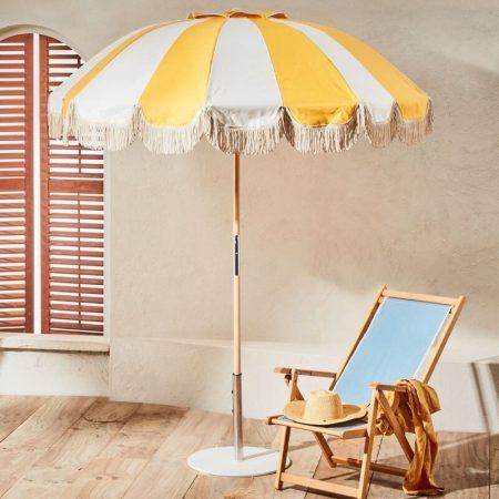 luxury patio umbrella with fringes tassels (1)
