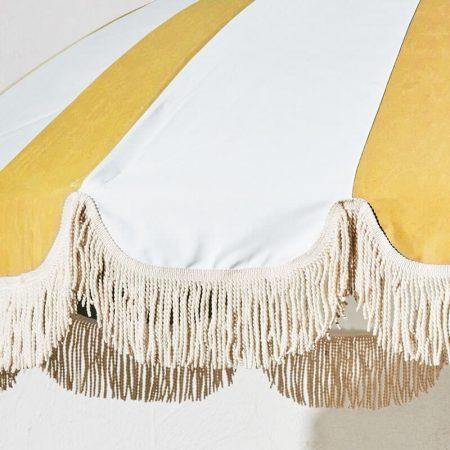 vintage patio umbrella luxury tassels