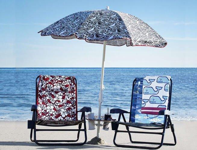 lightweight beach umbrella