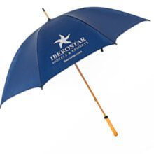 promotional golf RPET umbrella