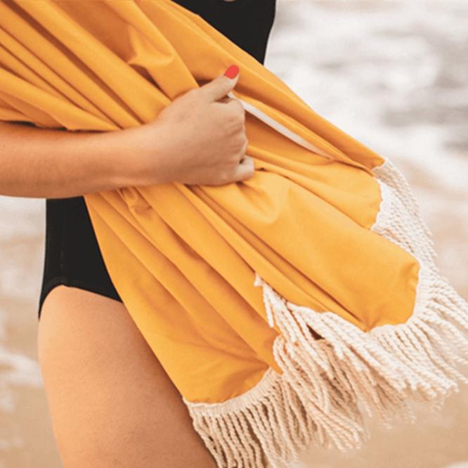 custom high quality fringed beach umbrella manufacturer factory supplier